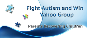 Fight Autism and Win Yahoo Group